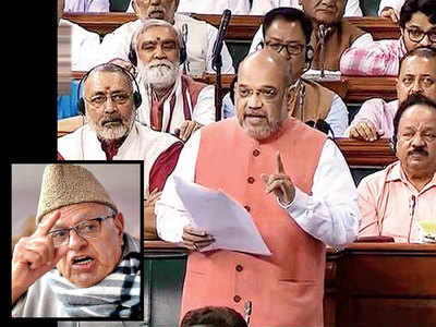 Parliament gives a nod to J&K bifurcation bill