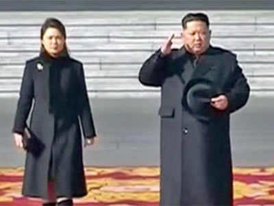 North Korea holds military parade on Olympics eve