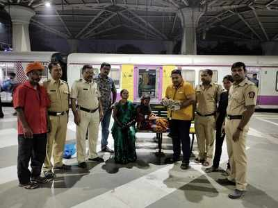Woman delivers baby girl at Panvel station