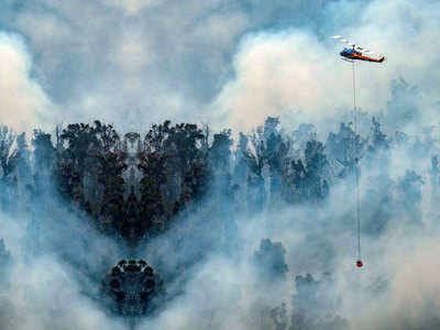 Bushfires spread to Melbourne