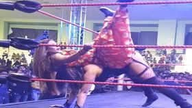 Rakhi Sawant challenges a wrestler, lands in hospital