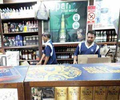 Liquor permits take a hit as tipplers prefer bootleggers over fee