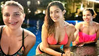 Raai Laxmi kills it in bikini withtwo other 'water babies'
