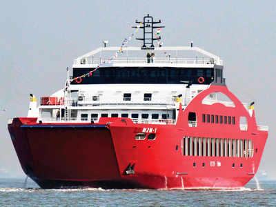 Ro-Ro service resumes today: One Mumbai-Alibaug ferry ride in each direction till Aug 30 for Ganeshotsav