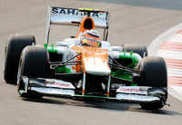 Force India disappoint in qualifying