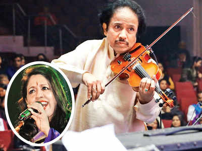 Dr L Subramaniam and Kavita Krishnamurthy to launch music course