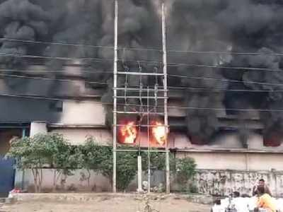 Fire breaks out at a factory in Ambernath; no injuries reported