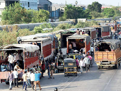 Lockdown, social distancing go for a toss on highways