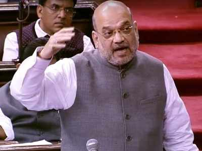 Amit Shah showcases his parliamentary skills