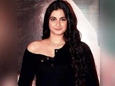 Rhea Kapoor turns model for an international label