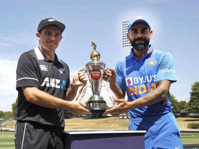 Highlights, India vs New Zealand, 1st ODI: Ross Taylor ton gives New Zealand four-wicket win over India in Hamilton