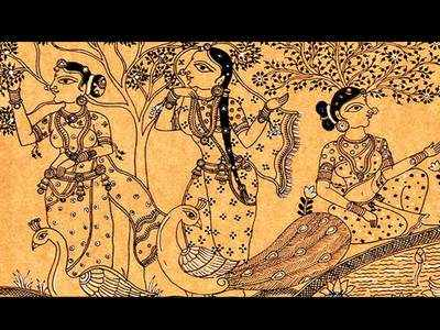 PLAN AHEAD: Pattachitra on canvas