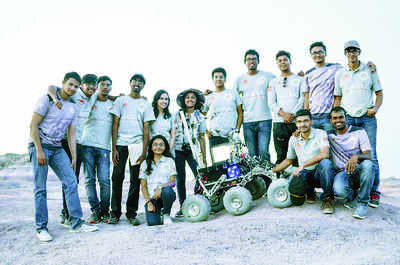 Manipal team's Mars Rover hits the mark
