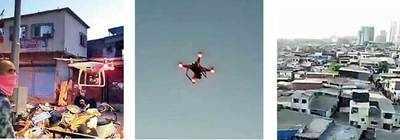 Kandivali slum benefits from drones