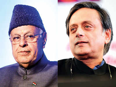 We're not criminals: Farooq tells Tharoor