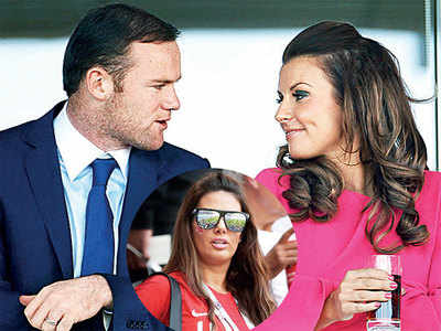 Rooney, Vardy wives in ugly Twitter spat