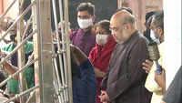 Navratri 2020: Amit Shah offers prayers at Bahuchara Mata Temple