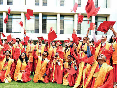 Hats off? Not just yet, say PDPU students who want a real convocation