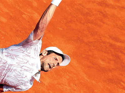 Returning Djoko's world in control, at least for now