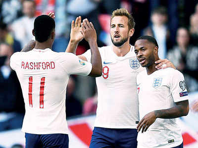 Euro 2020 qualifiers: England's strikeforce plunders 19 goals in just 4 qualifiers
