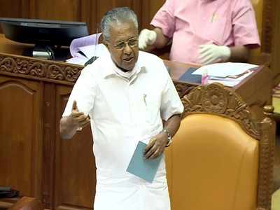 Pinarayi Vijayan government defeats no-confidence motion in stormy session