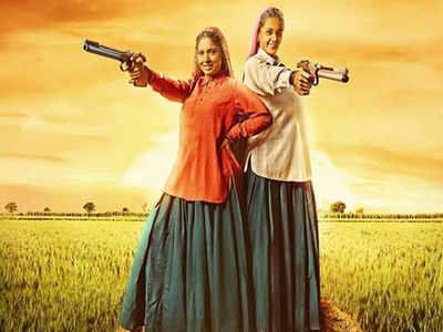 Taapsee Pannu, Bhumi Pednekar reveal first look of Saand Ki Aankh