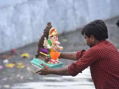 No Ganesh visarjan in Latur due to water shortage