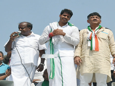 In Mandya, fight is between the people behind the candidates