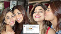 'Emotional' Shilpa Shetty reunites with sister Shamita after 6 weeks