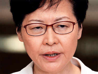 Hong Kong leader calls for dialogue