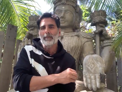 Watch: Akshay Kumar urges people to contribute for Ram Temple construction in Ayodhya