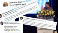 Twitter erupts over Piyush Goyal's 2016 video