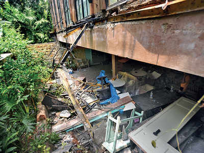 BMC bulldozes Kangana's home, sparks outrage
