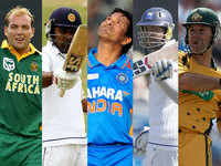 Top five: Batsmen with most international runs