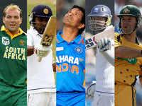 Top five: Batsmen with most international runs