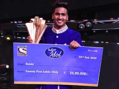 Sunny Hindustani from Bathinda wins Indian Idol 11, gets prize money of Rs 25 lakh, singing contract