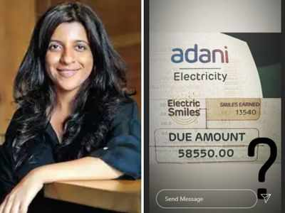 Zoya Akhtar expresses shock over inflated electricity bill amid lockdown