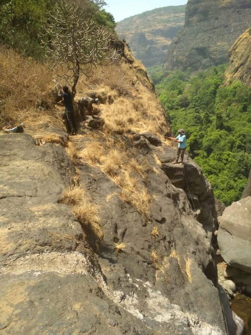 Trekkers lead clean-up drive