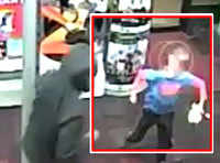 On cam: 7-year-old fights back against two robbers
