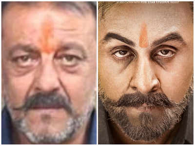 Sanju new poster: Ranbir Kapoor nails Sanjay Dutt's look from 2016 when he walked out of Yerwada jail
