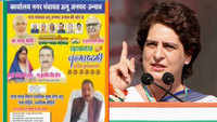 Priyanka Gandhi hits out at BJP over poster of rape accused MLA