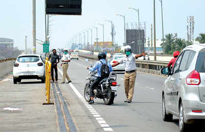Cops gear up to tackle  speedsters, violators on E-City expressway