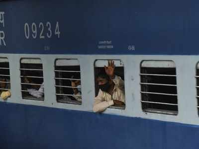 Special train leaves Hyderabad with 1,250 workers to Bihar, Telangana government pays for tickets