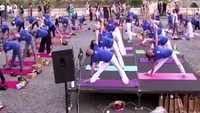 Indian Embassy celebrates International Yoga Day in Rome