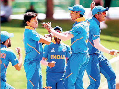 Kartik Tyagi's heroics help India thrash Australia in U19 World Cup quarter-finals