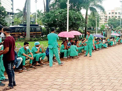 ABMH nurses sit on strike over work hrs