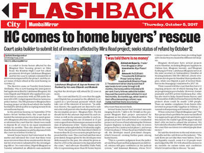 Home buyers in three more projects say builder cheated them
