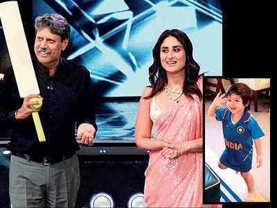 Kareena Kapoor Khan wants son Taimur Ali Khan to be a cricketer