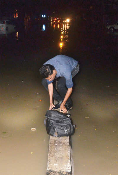Bengaluru Rains: A bag that took the road much travelled