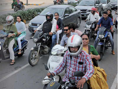 Why no  penalty for helmet-less pillion rider is not fine